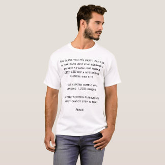 T-shirt extrêmement lumineux