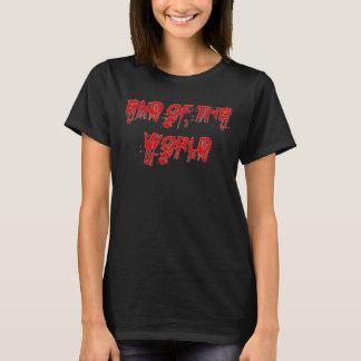 T-shirt Extrémité sanglante de la chemise du monde