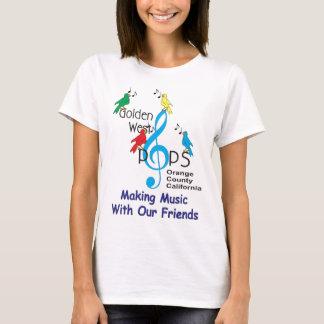 T-shirt Fabrication de la musique avec T de notre d'amis