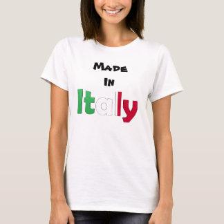 T-shirt Fabriqué en Italie