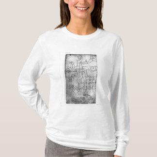 T-shirt Fac-similez la copie de Mme Fr Studies des hommes