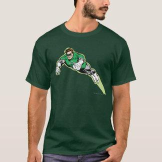 T-shirt Faisceau d'énergie vert de lanterne
