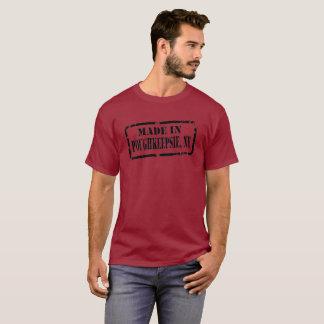 T-shirt Fait dans Poughkeepsie - noir