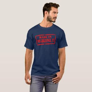 T-shirt Fait dans Poughkeepsie - rouge