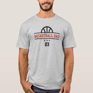 T-shirt fait sur commande de basket-ball