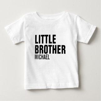 T-shirt fait sur commande de bébé de petit frère