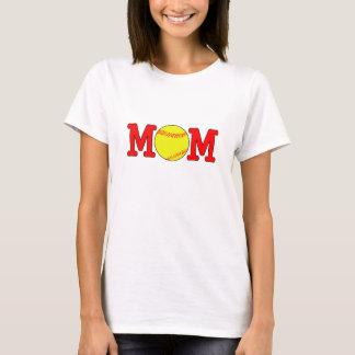 T-shirt fait sur commande de maman du base-ball