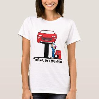 T-shirt Faites confiance que je je suis un mécanicien