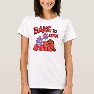 T-shirt Faites cuire au four pour défaire le logo de