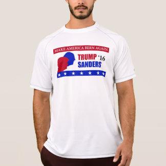T-shirt Faites l'Amérique Berne encore Trump la chemise de