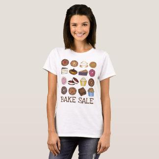T-shirt Faites les pâtisseries cuire au four de gâteau de