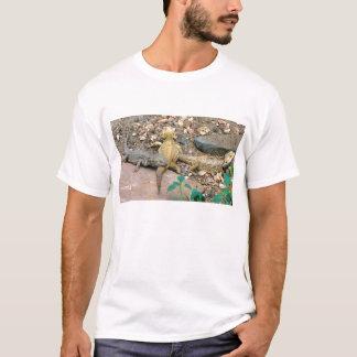 T-shirt Famille barbue de dragon