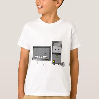 T-shirt Famille d'ordinateur IL tour de PC de souris