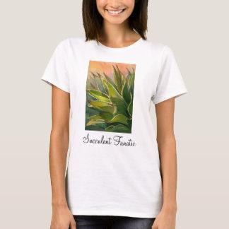 T-shirt fanatique succulent d'agave, dames
