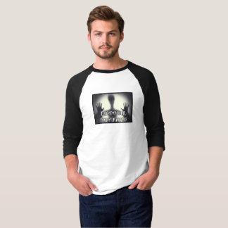 T-shirt Fantôme paranormal du Jersey T des hommes