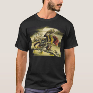 T-shirt Faucon rouge de queue