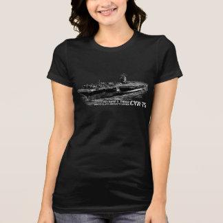 T-shirt Favori Jer de Bella des femmes de CVN-75 Harry S.