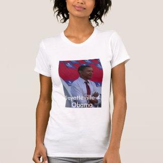 T-shirt Fayetteville 4 Obama