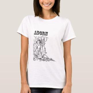 T-shirt Fée de métier romantique