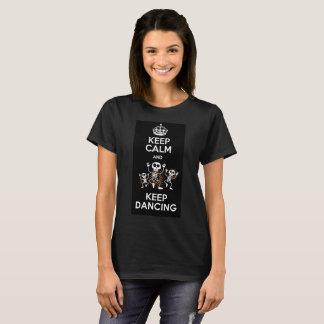 T-shirt Fem Keep Calm