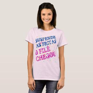T-shirt Féminin de Carnaval Suspend les Frites