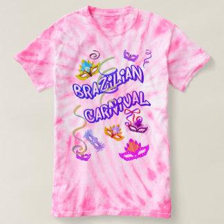 T-shirt Féminin Rose Carnaval du Brésil