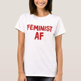 T-shirt Feminist AF
