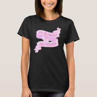 T-shirt féministe contre l'avortement et