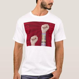 T-shirt Féministe contre l'humaniste