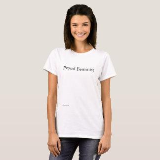 T-shirt Féministe fier !