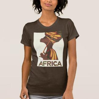 T-shirt Femme africaine