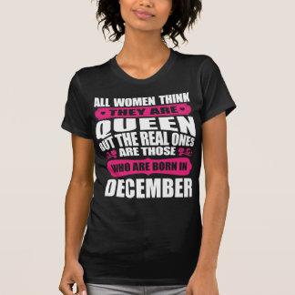 T-shirt Femme d'anniversaire de décembre
