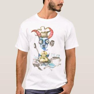 T-shirt femme de charge de chèvre