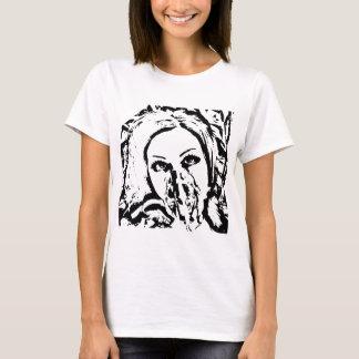 T-shirt Femme de masque de gaz