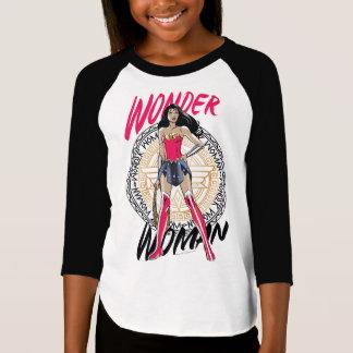T-shirt Femme de merveille avec l'emblème tribal grec