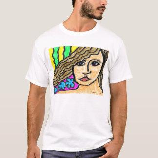 T-shirt Femme en verre souillé