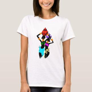 T-shirt Femmes africaines de panier