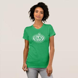 T-shirt Femmes de pièce en t de tasse de congé annuel de