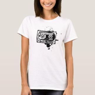 T-shirt Femmes d'enregistreur à cassettes
