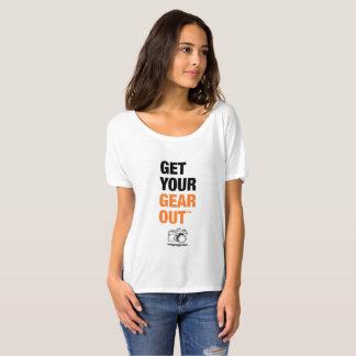 """T-shirt Femmes """"obtenez la pièce en t de vos vitesse"""""""