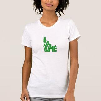 T-shirt Femmes vertes de l'État d'origine de l'Idaho