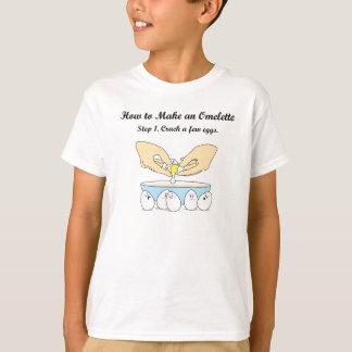 T-shirt Fendez quelques oeufs