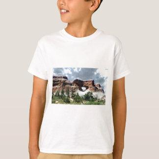T-shirt Fenêtre du sud de parc national de voûtes du dos