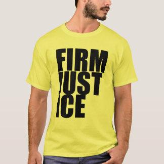 T-shirt ferme de justice de hanche