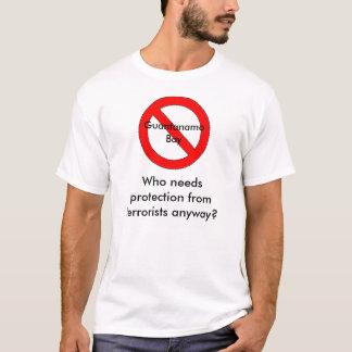 T-shirt Fermeture de Guantanamo Bay ?