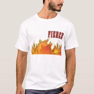 T-shirt féroce du feu