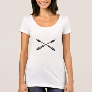 T-shirt Fers à souder croisés