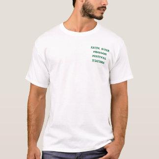 T-shirt Festival de liberté de Keith Auer