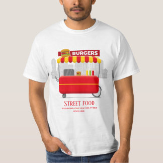 T-shirt Festival de nourriture de la nourriture   de rue