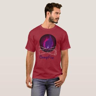 T-shirt Feu de camp